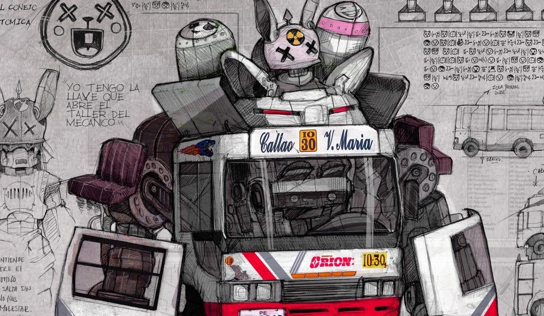 Dieselpunk Robot art prints