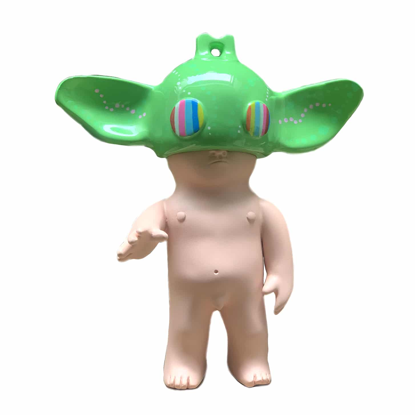 WAKO Yoda rainboy limited edition art toy