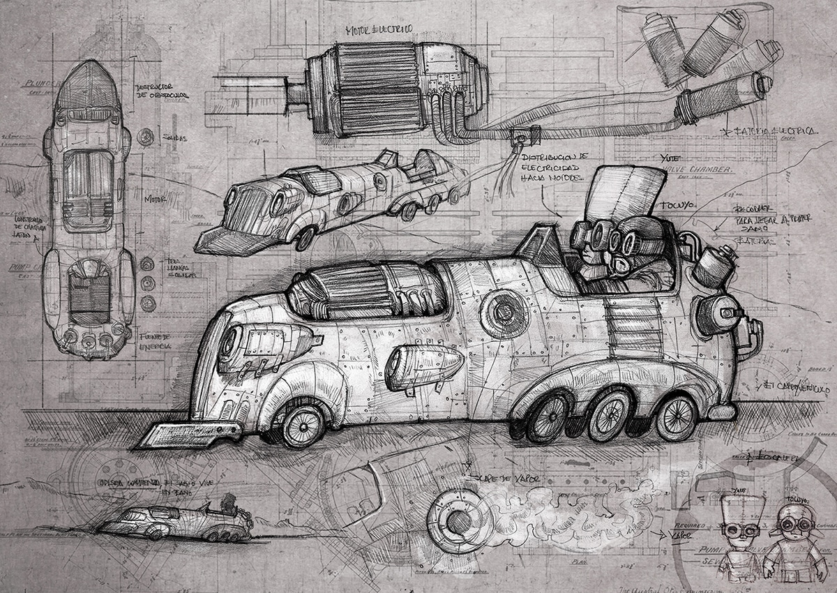 steampunk vs dieselpunk