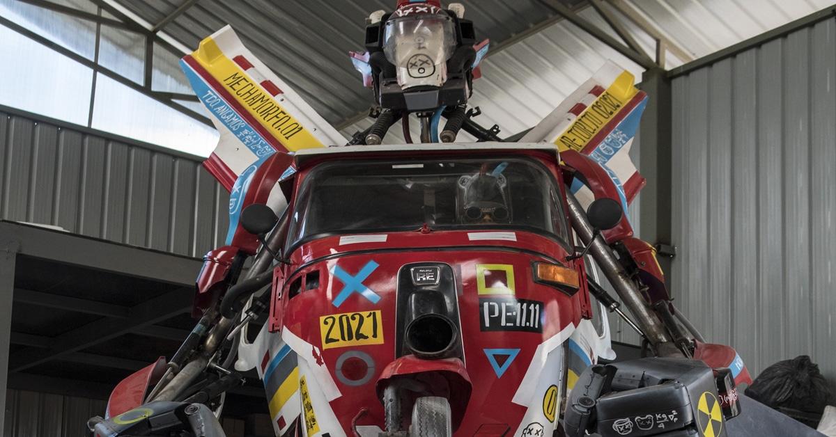 dieselpunk giant robot